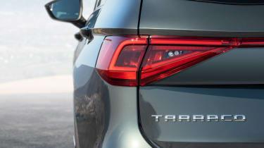 SEAT Tarraco - rear light