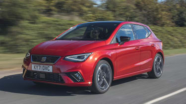 SEAT Ibiza facelift - front tracking