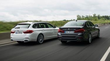 BMW Alpina D5 S and BMW Alpina D5 Touring - rear