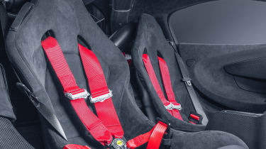 McLaren MSO X - seats