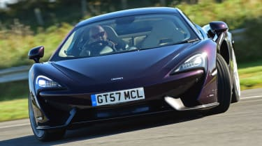 McLaren 570GT - front