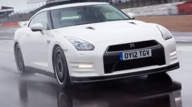 Nissan GT-R Track Pack front tracking