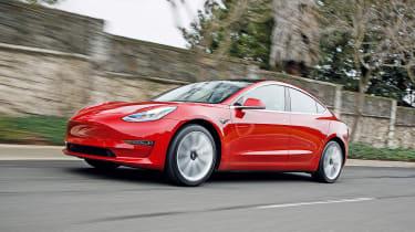 Tesla Model 3 - front action