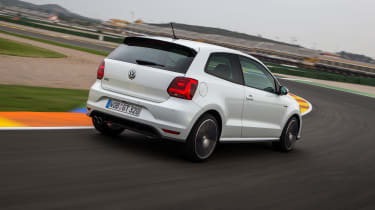 VW Polo GTI - rear action