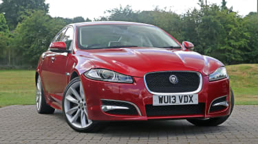 Used Jaguar XF - front