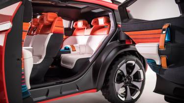 Citroen Aircross concept - side doors