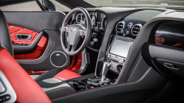 Bentley Continental GT V8 S coupe 2014 cabin