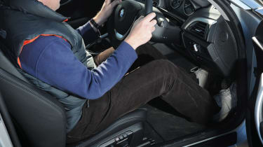 BMW 2 Series vs coupe rivals driving position