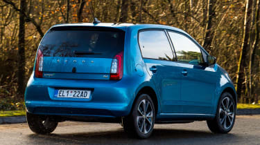 Skoda Citigo-e iV - rear cornering