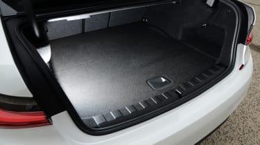 BMW 330e - boot