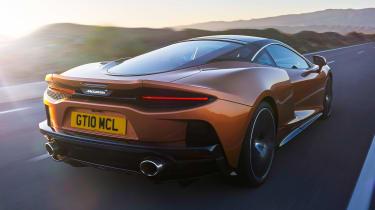 McLaren GT - rear action