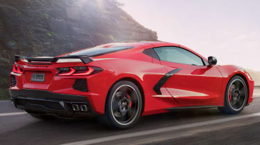 2020 Chevrolet Corvette - side