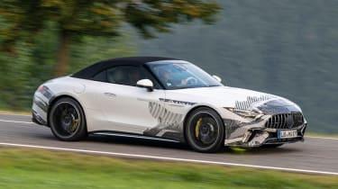 Mercedes SL prototype - front action