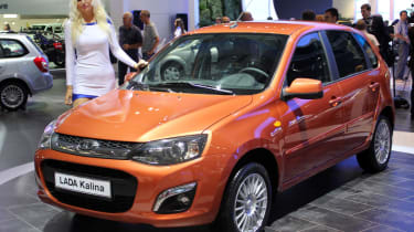 Lada Kalina facelift