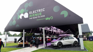 Goodwood Festival of Speed 2021 - Electric Avenue