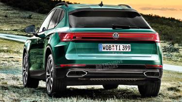 Volkswagen Tiguan - rear (watermarked)