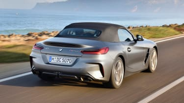 BMW Z4 - rear roof up