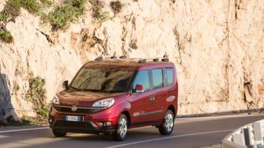 Fiat Doblo 2015 - driving