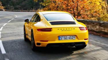 Porsche 911 Carrera T - rear action