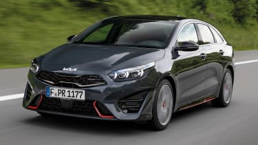 Kia Proceed facelift - front