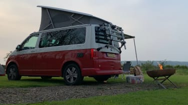 Volkswagen California Ocean long termer - campsite