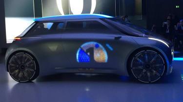 MINI Vision Next 100 concept - reveal side