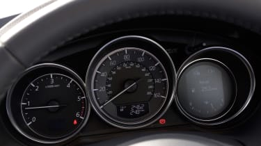 These dials show useful info like your current speed.
