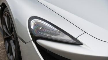 McLaren 540C - front light detail