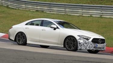Mercedes CLS - spyshot 5