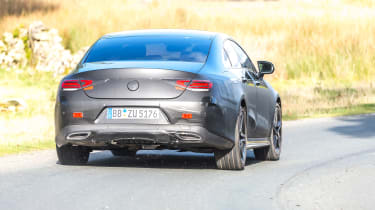 Mercedes CLS prototype - rear cornering