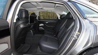 Audi A8 - back seats