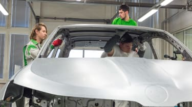 Skoda Sunroq concept - removing the roof