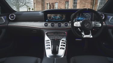 Mercedes-AMG GT 4-Door Coupe interior