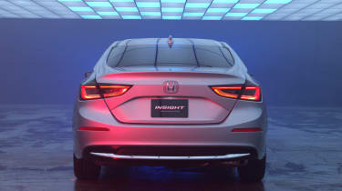 Honda Insight Prototype - full rear