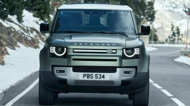 2019 Land Rover Defender front on-road