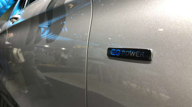 Mercedes GLC 300 e - badge