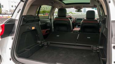 Citroen C5 Aircross - boot seats down