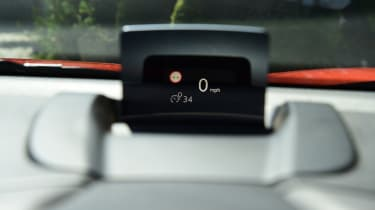 Citroen C3 Aircross - head-up display
