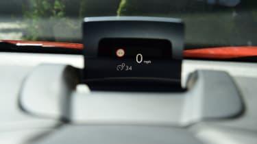 Citroen C3 Aircross - head-up display