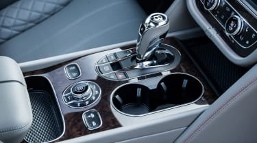 Bentley Bentayga luxury SUV centre console