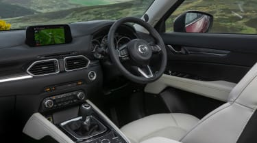 Mazda CX-5 2.2d Sport Nav - steering wheel