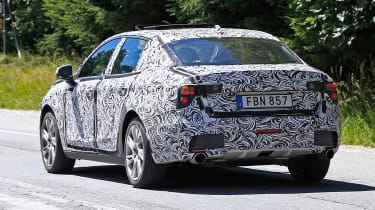 Lynk & Co 03 spy shots rear quarter