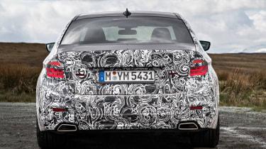 BMW 5 Series prototype 2016 - rear