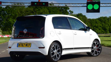 Volkswagen up! GTI static rear