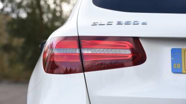 Mercedes GLC 350d 2017 - rear light