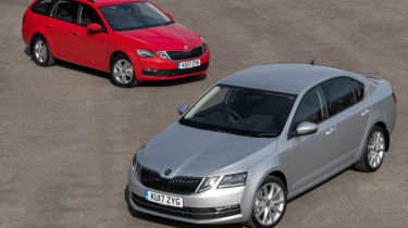 2017 Skoda Octavia - hatch and estate