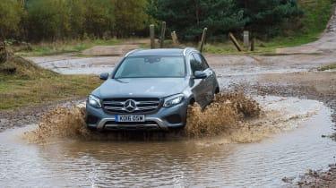 Mercedes GLC long-term test - rear off-roading
