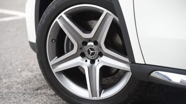 Mercedes GLA facelift - wheel