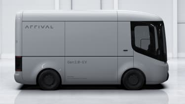 Arrival van - side static