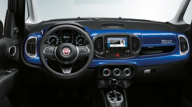 Fiat 500L interior Mirror special edition 2018